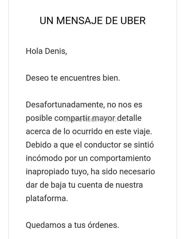 """Bajo la igualdad de derechos si se considera apropiado besar a alguien del mismo sexo también lo es a alguién del mismo (Benjamín Núñez Vega)  """"Aguilar mencionó que lo único que hizo fue besar a otro hombre y que, al parecer, al chofer le pareció inapropiada""""  Denuncian discriminación de Uber por beso a hombre https://www.laprensalibre.cr/Noticias/detalle/125733/denuncian-discriminacion-de-uber-por-beso-a-hombre"""