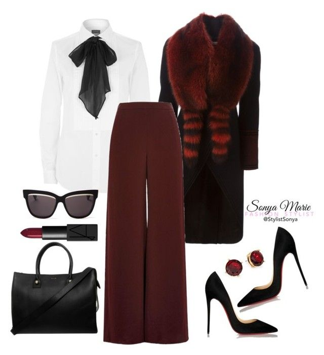 Untitled #251 by stylistsonyamarie on Polyvore featuring polyvore fashion style Polo Ralph Lauren Givenchy River Island Christian Louboutin Paul & Joe Christian Dior Lauren Ralph Lauren NARS Cosmetics clothing