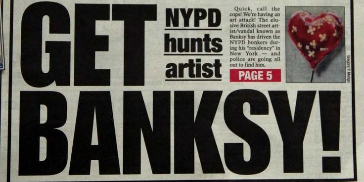 Banksy Taunts Cops After Mayor Bloomberg Calls Him A Vandal