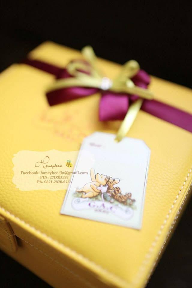 Yellow classic pooh box