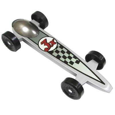 Phantom Pinewood Derby Car Kit... super cool looking and extra fast!!!