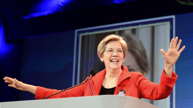 """Elizabeth Warren Won't Rule Out Campaigning for Bernie Sanders  - - Massachusetts senator says it's """"too early to say."""" - - Tue Jun. 30, 2015"""