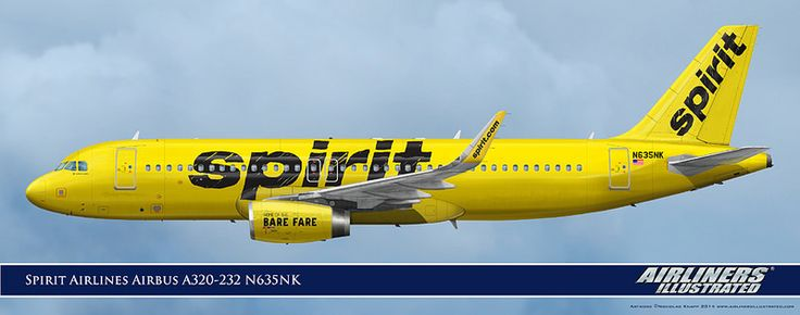 Spirit Airlines Airbus A320-232 N635NK