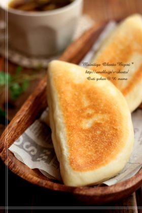 「●フライパンで♪ふっくらもっちりパニーニ」あ〜るママ | お菓子・パンのレシピや作り方【corecle*コレクル】