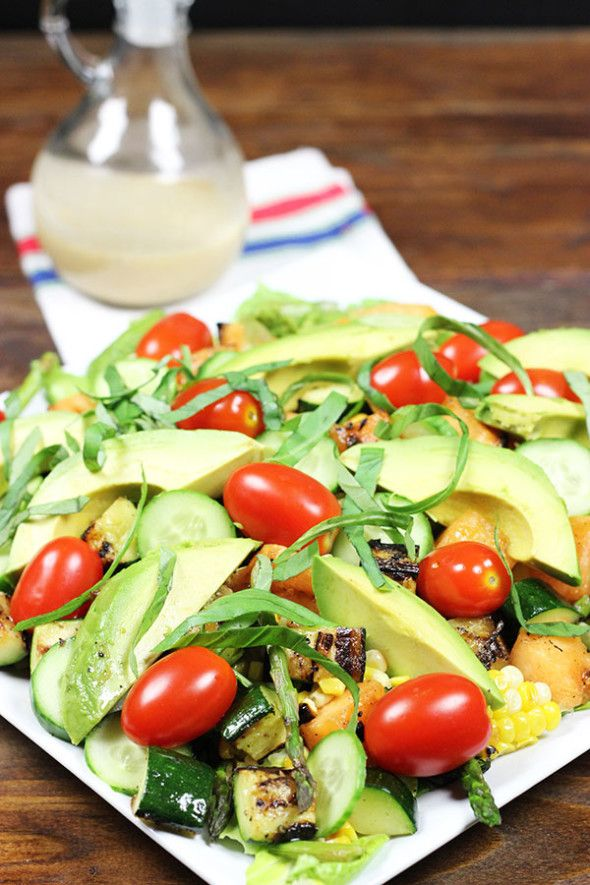 "Grilled Summer Salads from ABC's ""The Chew"" 