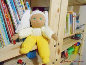 Вальдорфская кукла в моём исполнении | Волшебство своими руками