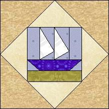 Quilt-Pro Systems - Quilt-Pro - Block of the Day Diamond Boat....The Block of the Day is available to all quilters, regardless of whether you own our software programs.  You can download the Block of the Day as a .pdf file