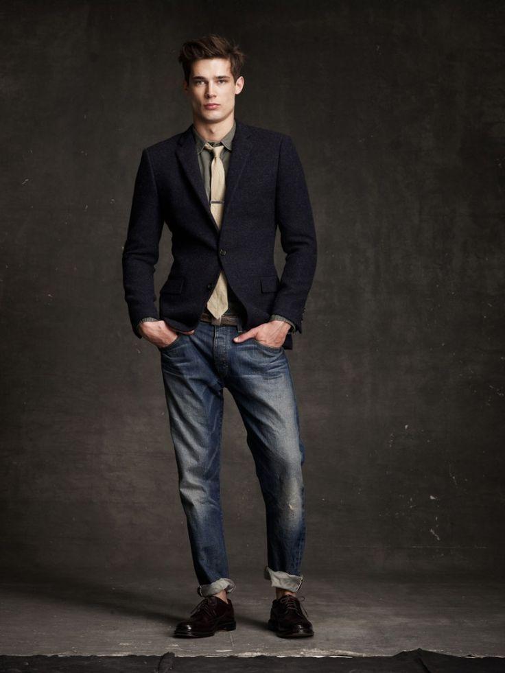 124 best m style # jacket & denim images on Pinterest | Menswear ...
