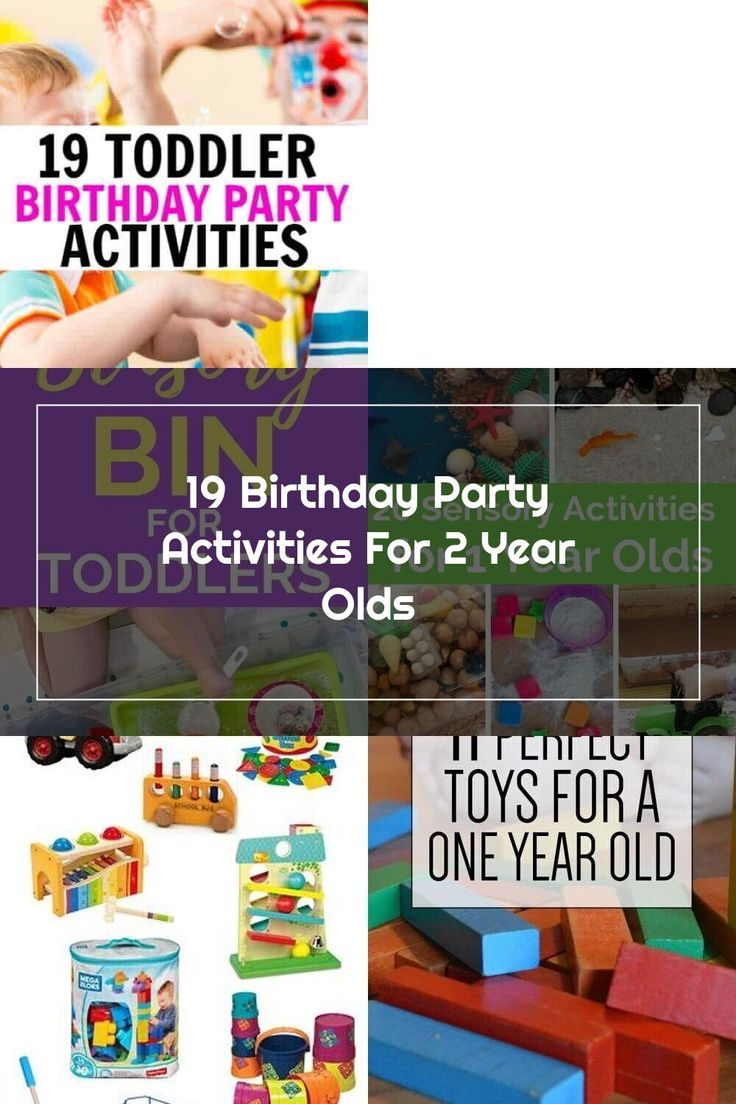 19 Birthday Party Activities For 2 Year Olds in 2020