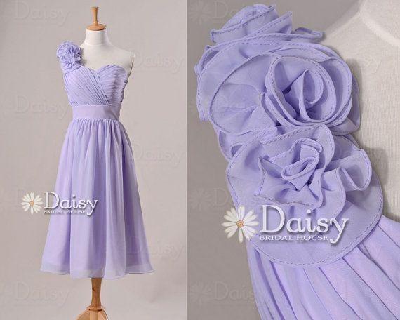 Light Purple Bridesmaid DressPale Lavender by DaisyBridalHouse