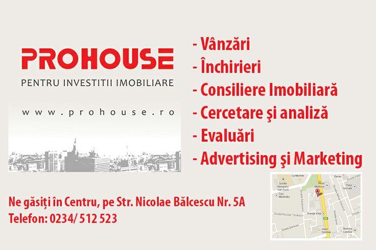 www.prohouse.ro Pentru investitii imobiliare!