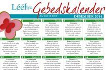 Desember 2014 Gebedskalender