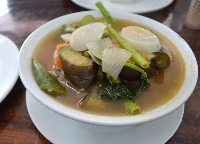 Sinigang na Baboy - Top 10 Filipino Food - or our full top 10 Filipino food check here: http://live-less-ordinary.com/eating-asia/top-10-filipino-food-pinoy-food