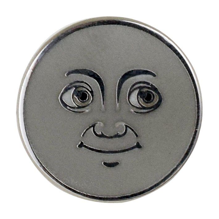 Moon Emoji Pin