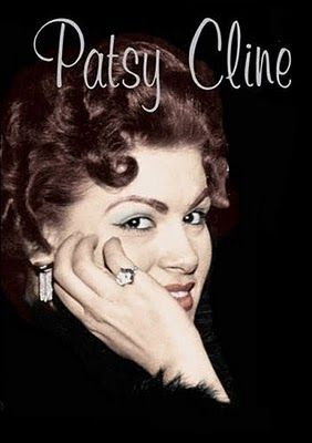 "Virginia Patterson Hensley aka Patsy Cline (9/8/32 - 3/5/63) American country music singer as part of the early 1960s Nashville sound. Cline successfully ""crossed over"" to pop music. At age 30, she died at the height of her career in a private plane crash."