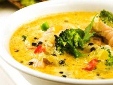 Smarrig soppa med långsamma kolhydrater. Receptet kommer från GI Viktkoll.