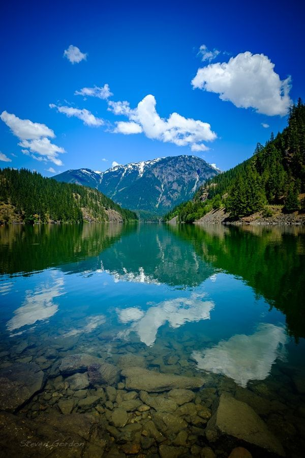 Diablo Lake Thunder Arm (North Cascades, Washington) by Steven Gordon / 500px