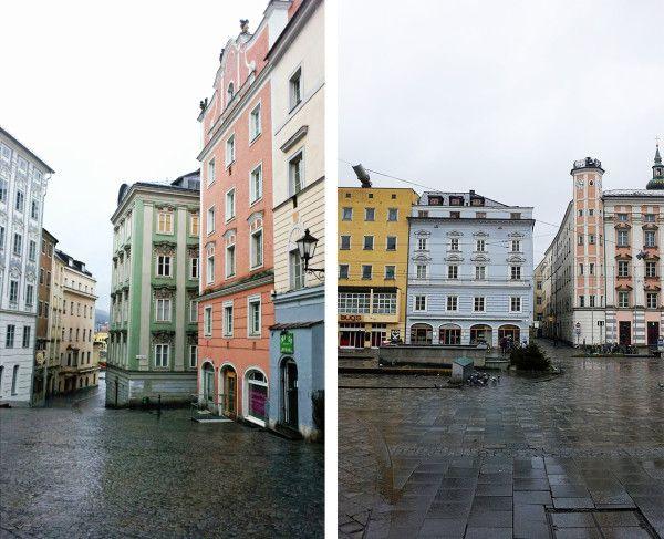 Besonders ArchitekturliebhaberInnen kommen in Linz auf ihre Kosten.