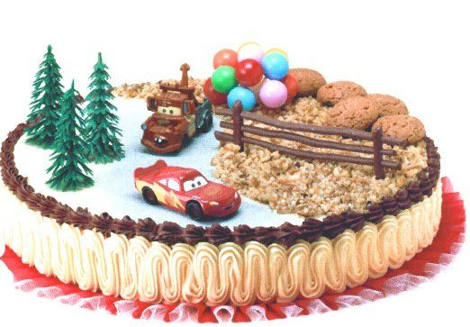 Decorazioni torta Disney Cars