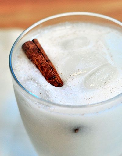 Horchata de Coco {Coconut Horchata Cooler)  I love coconut! Sounds refreshing and delish.