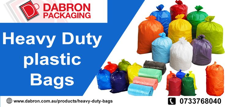 We are one of the best Heavy Duty Plastic Bags Manufacturer in Brisbane.