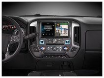 "Alpine - 10"" - Built-In GPS - CD/DVD - Built-In Bluetooth - Built-In HD Radio - Apple® iPod®-Ready - In-Dash Deck - Black, X110-SLV"