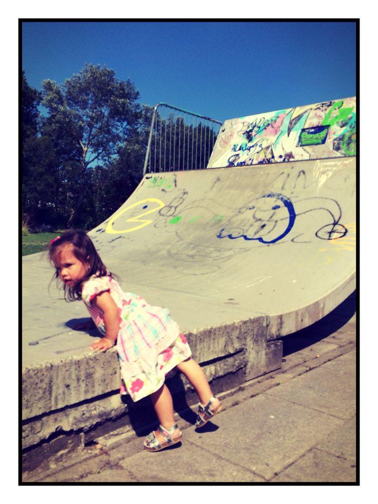 Olivia the skateboard girl...