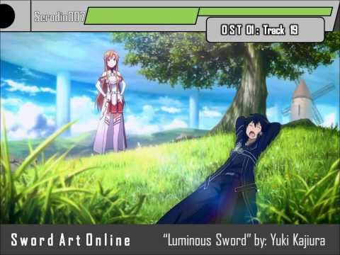 Sword Art Online OST Track 19: Luminous Sword HD (+playlist)
