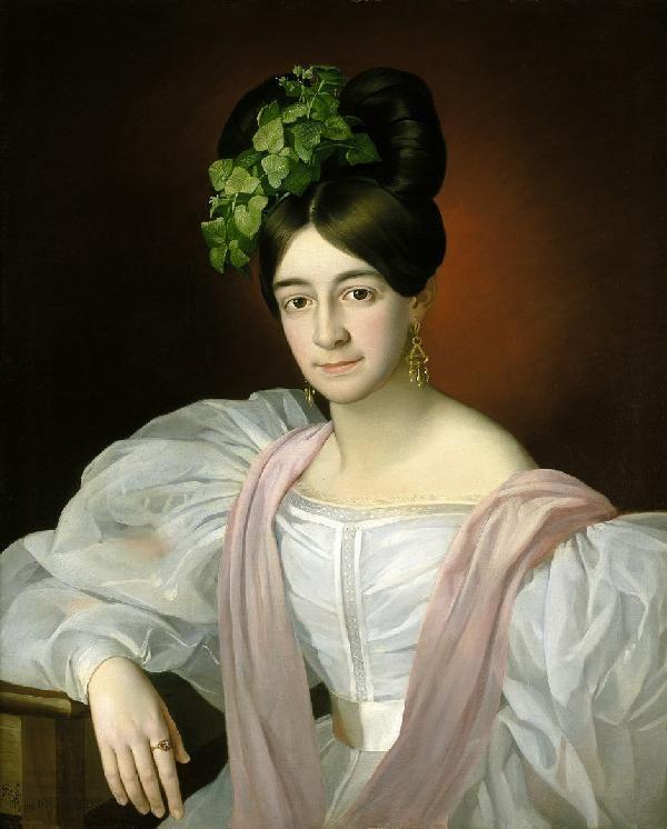 1827: Porträt der Maria Castaldo: