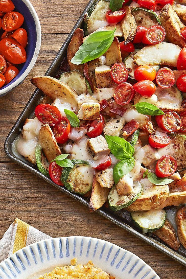 Italian Potato Wedge Nachos  - CountryLiving.com
