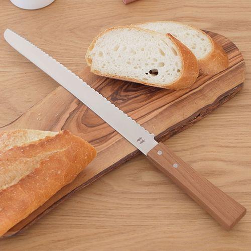 画像5 : みなさんは「ブレッドナイフ(パン切り包丁)」を持っていますか?パンをつぶさずキレイにカットすることができる包丁で、おしゃれなものもたくさんあるんですよ。今回は簡単な選び方のコツと、おすすめのおしゃれなナイフをまとめました。