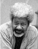 Wole Soyinka, this site also has a link to his works in print
