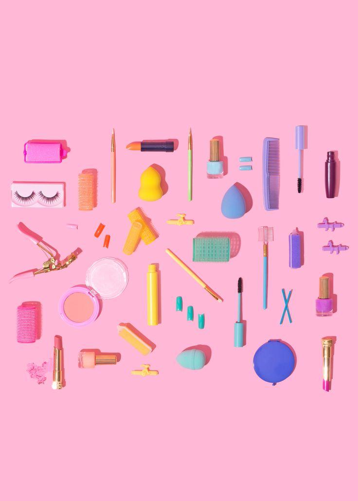 Makeup the rainbow // Violet Tinder Studios