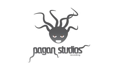 A local recording studio 'Pagan Studios' mockup design 1 of 3. #paganstudios #pixelutiondesignstudio