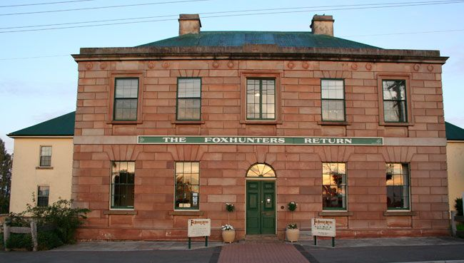 The Book Cellar is a fabulous bookshop located in the cellars of one of the Foxhunters Return, an 1830's coaching inn, just before the bridge in Campbell Town, on the Midland Highway (Launceston to Hobart), Tasmania, Australia. http://www.discovertasmania.com.au/attraction/thebookcellar