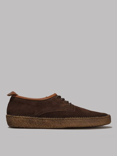 Native Craftworks - Country Shoes - Dark Brown Suede