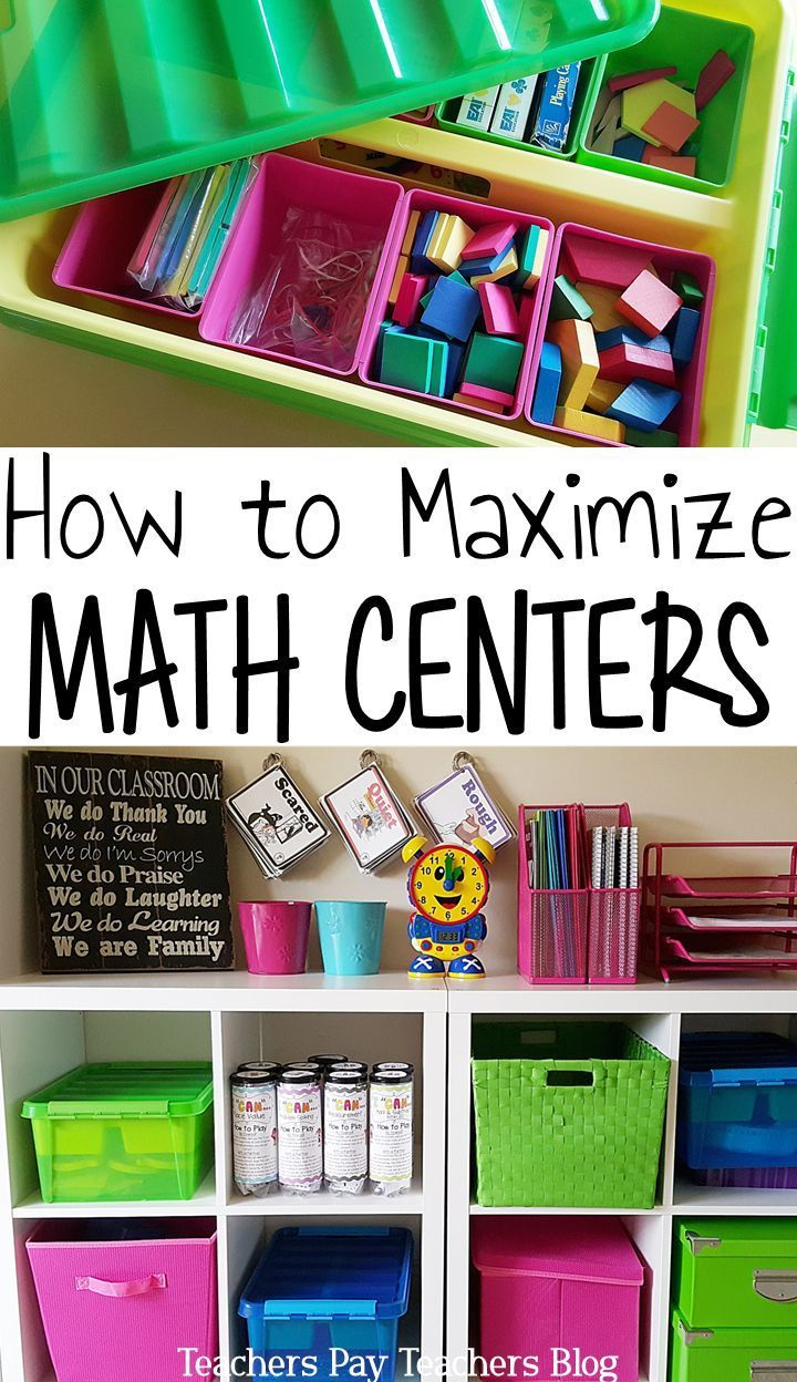 Math centers can be overwhelming. Use these organization tips and math center ideas to make them a breeze. From choosing the right math games to classroom management. (the 3rd tip is my favorite)