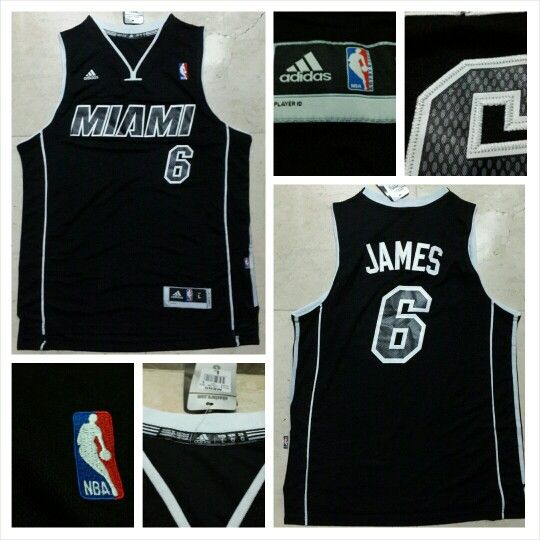 READY STOCK ! READY STOCK!!  JERSEY BASKETBALL NBA MIAMI HEAT LEBRON JAMES #6 SWINGMAN REVO30 FOR SALE  Interested?  Follow us @korionz  Contact us! BB 28BCBB04 LINE Leonardusmarvin Whatsapp +62-838-7033-0922