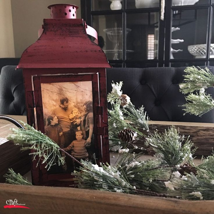 So perfect for all kinds of occasions! Make this: A Photo Lantern - Learn How at Craft Warehouse