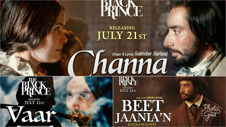 Here areThe Black Prince Movie Songs along with official videos sung by Satinder Sartaj. Read all the details and preview of Black Prince