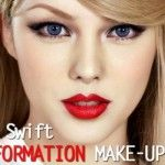 Transformasi Gaya Makeup Pony Taylor Swift
