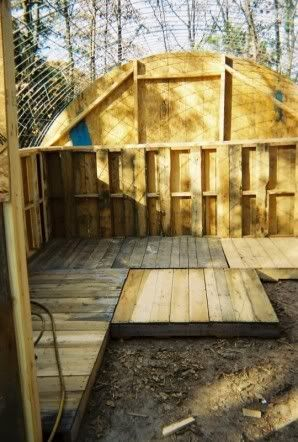 pallet barn or green house