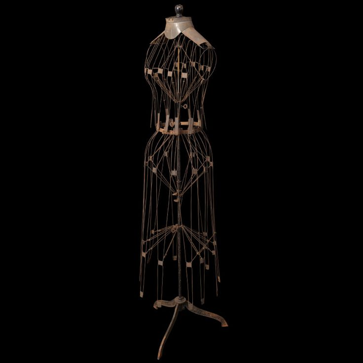 Pin by Pamela Cole on Metal Wire Dress Forms Pinterest