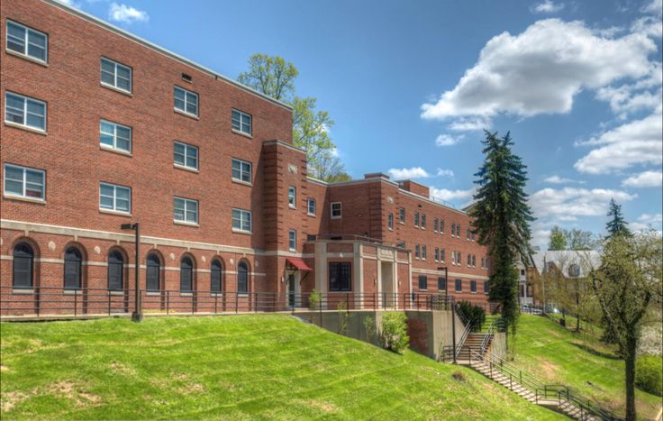 Dadisman Hall Downtown Wvu Mountaineers Letsgomountaineers Westvirginia Westvirginiauniversity Morgantown Housing Options Residence Hall House Styles
