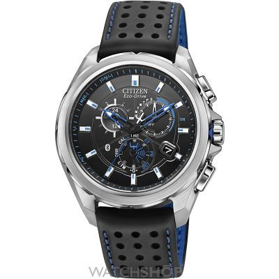 Mens Citizen Proximity Bluetooth Chronograph Eco-Drive Watch AT7030-05E