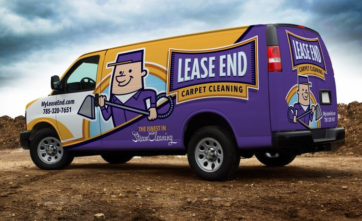 Vehicle wrap design and fleet branding for Lease End Carpet Cleaning, a carpet cleaning service company in Kansas. - NJ Advertising Agency, NJ Ad Agency, NJ Web Design, NJ Logo Design, Website Design New Jersey, NJ Graphic Designer, New Jersey Logo Design, Graphic Design NJ   Graphic D-Signs, Inc. #truckwraps #advertising #design #graphicdesign #logo #branddevelopment #fleetbranding #vehiclewraps