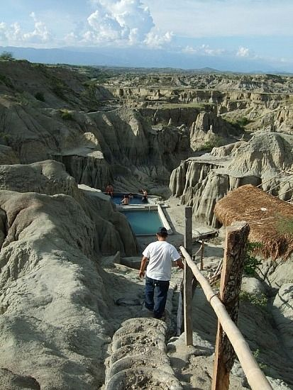 Natural Pool, The Tatacoa Desert Villavieja Huila, Colombia