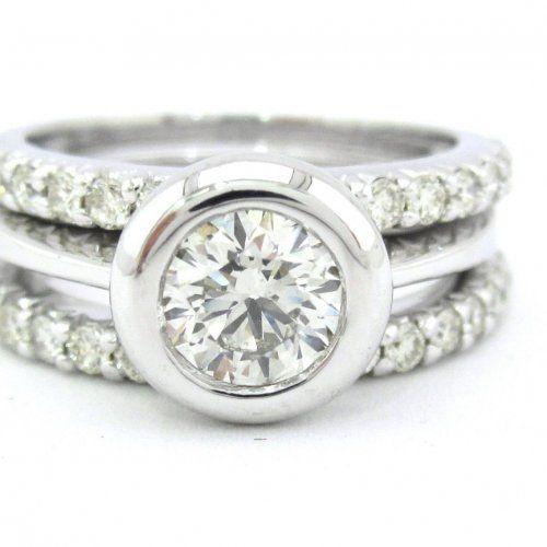 Gold Ring One Diamond