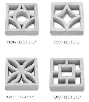 15+ companies that sell decorative concrete screen blocks – comprehensive list