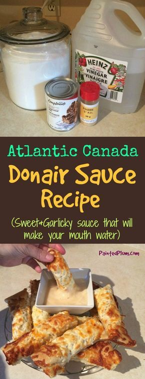 How to Make Donair Sauce - Donair Sauce Recipe from Atlantic Canada